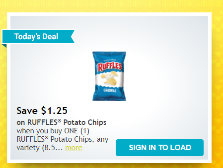 Ruffles Chips just -New Summer is Delicious Coupon! - Kroger