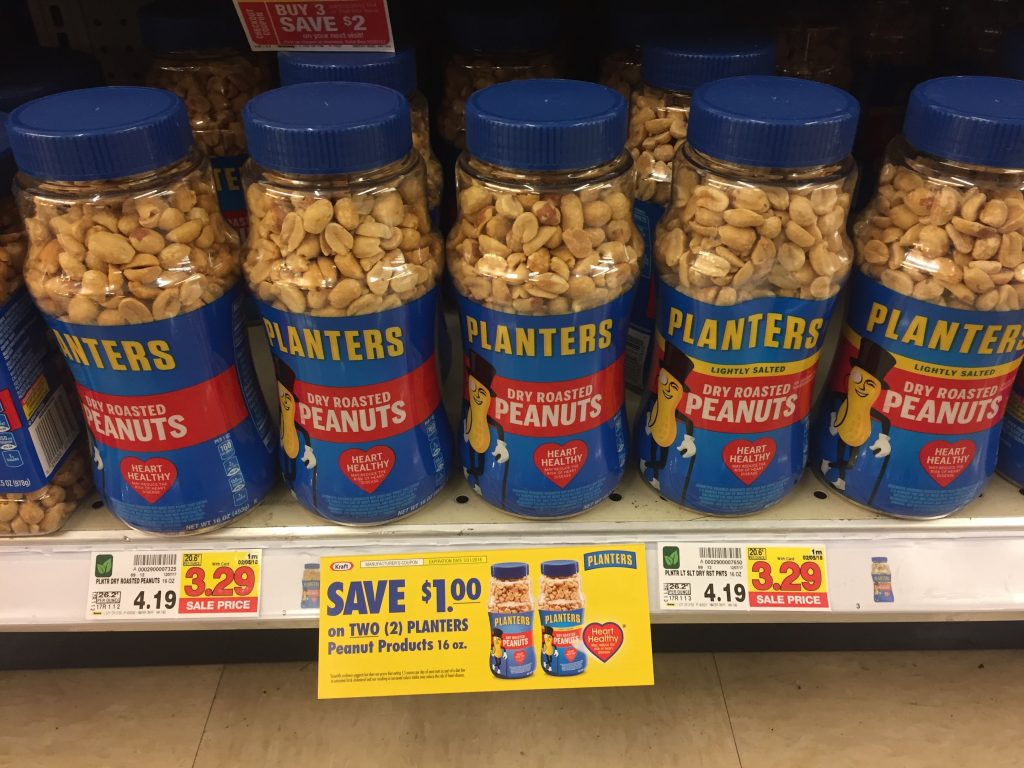 Christmas Planters Peanuts.Planters Peanuts As Low As 2 79 Kroger Couponing