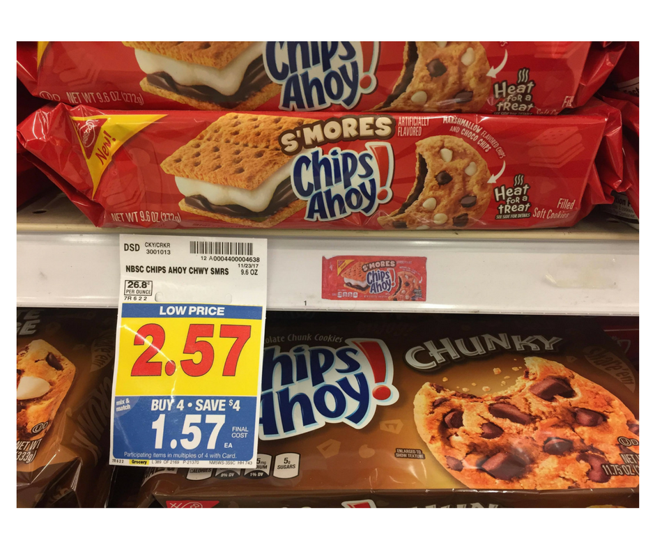 ChipsAhoy Cookies as low as $1 20 - Kroger Couponing