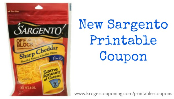 photo regarding Sargento Printable Coupon referred to as Contemporary Sargento Printable Coupon - Shredded Cheese Accurately $2.69