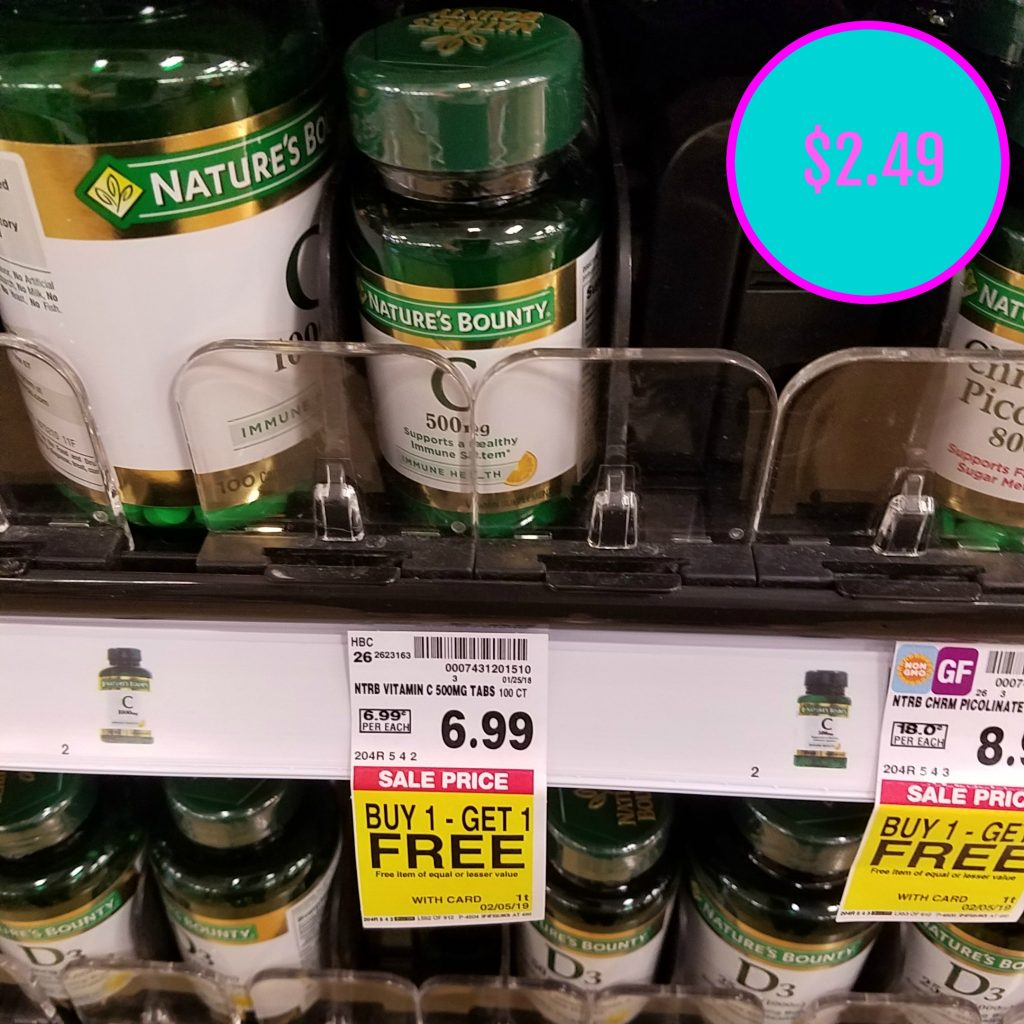 graphic regarding Nature's Bounty Coupon Printable referred to as Natures Bounty Vitamins and minerals simply just $2.49 - Kroger Couponing