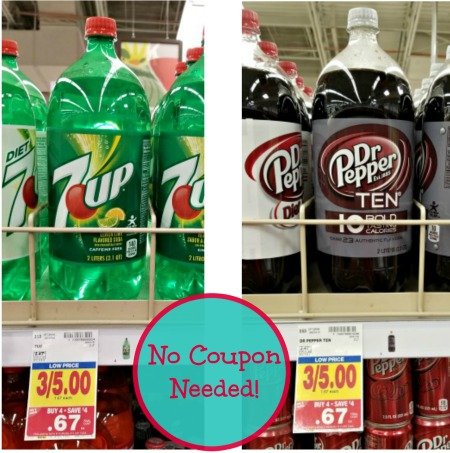 Sodas Just 67¢ - No Coupon Needed! - Kroger Couponing