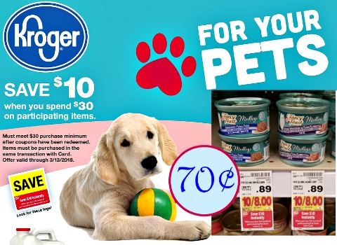 picture about Fancy Feast Printable Coupons referred to as Dog Catalina + Clean Printable Discount coupons At Kroger - Kroger