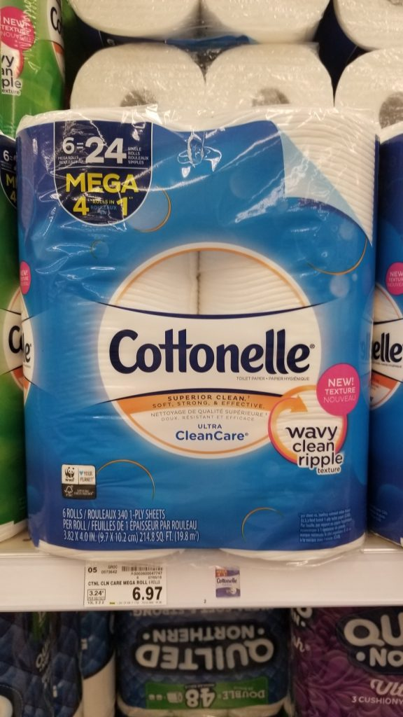 image regarding Cottonelle Printable Coupon referred to as Cottonelle Lavatory Paper only $.24 for each month-to-month roll - Kroger