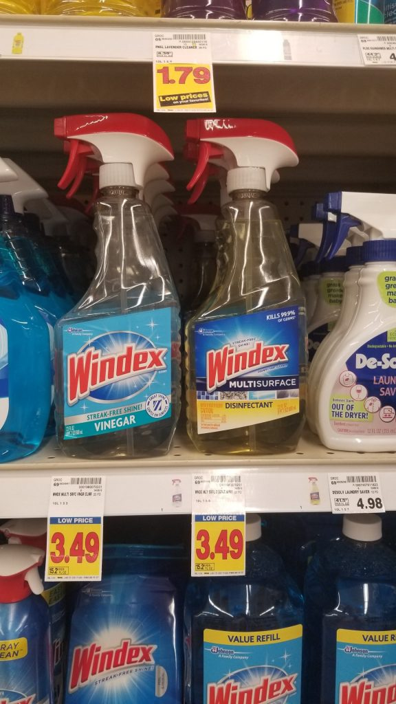 graphic relating to Windex Printable Coupon named Windex Gl Cleaner basically $2.99 - Kroger Couponing