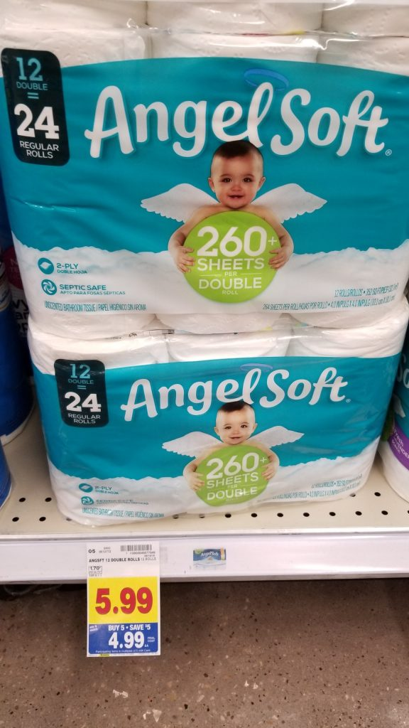 photo relating to Angel Soft Printable Coupon known as Angel Delicate Bathroom Paper particularly $3.99 - Kroger Couponing