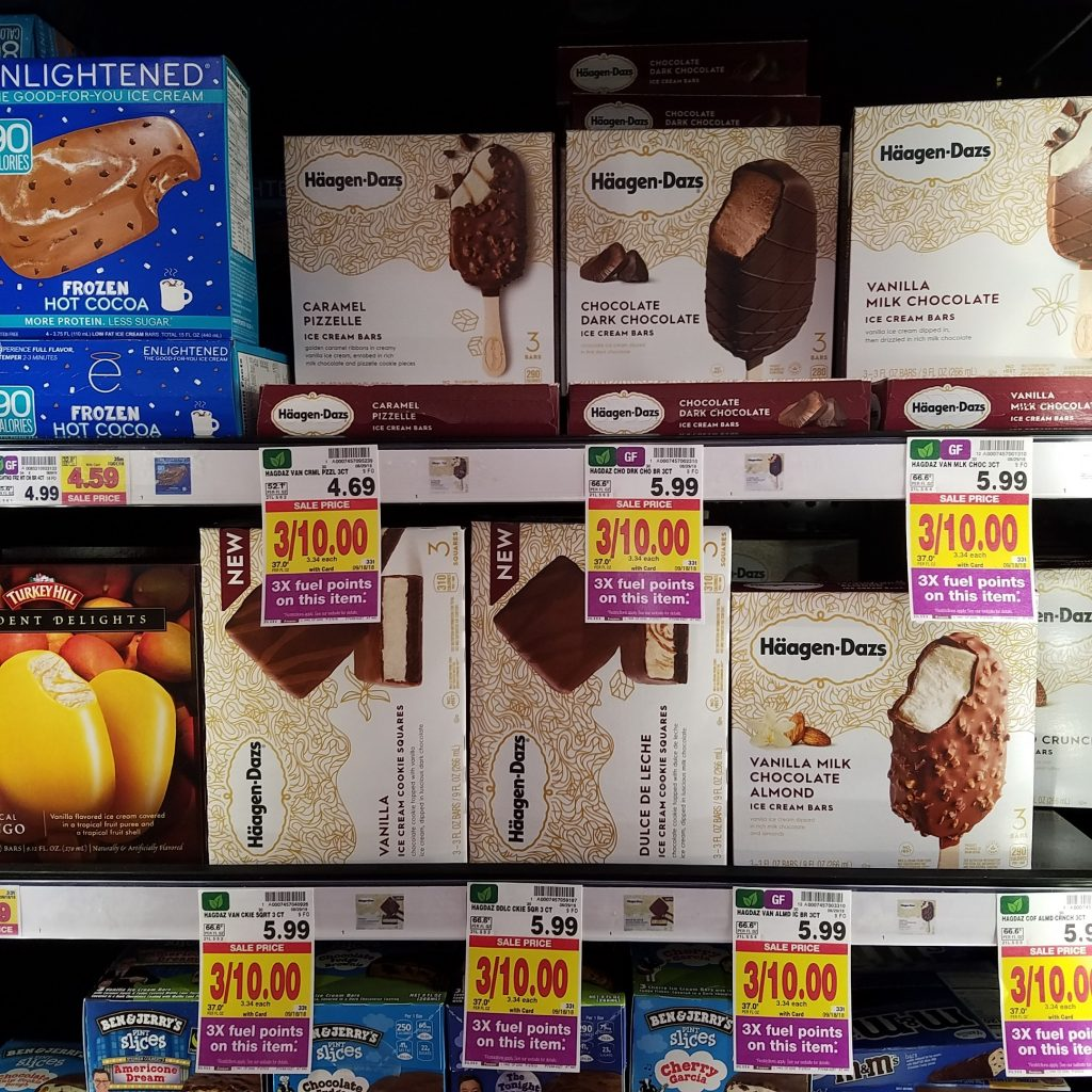image regarding Haagen Dazs Coupon Printable known as Haagen Dazs Ice Product exactly $3.32 - Kroger Couponing