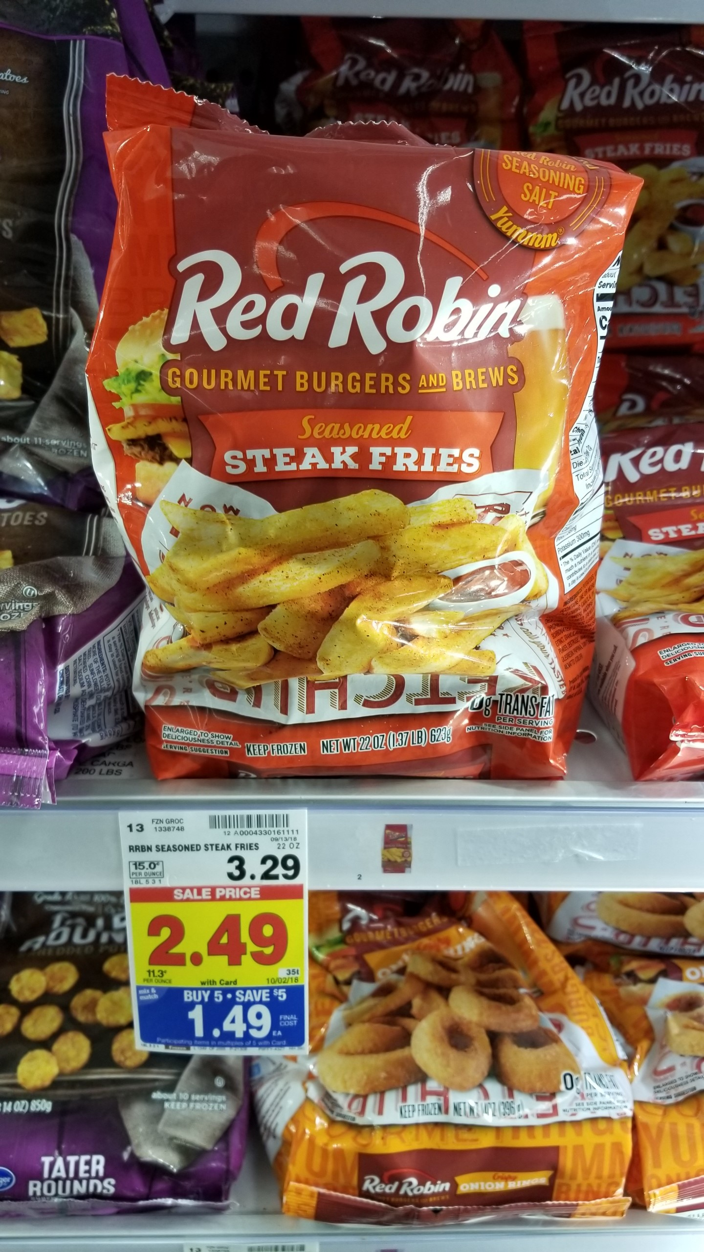 HOT!!!! Red Robin Fries just $.89! - Kroger Couponing